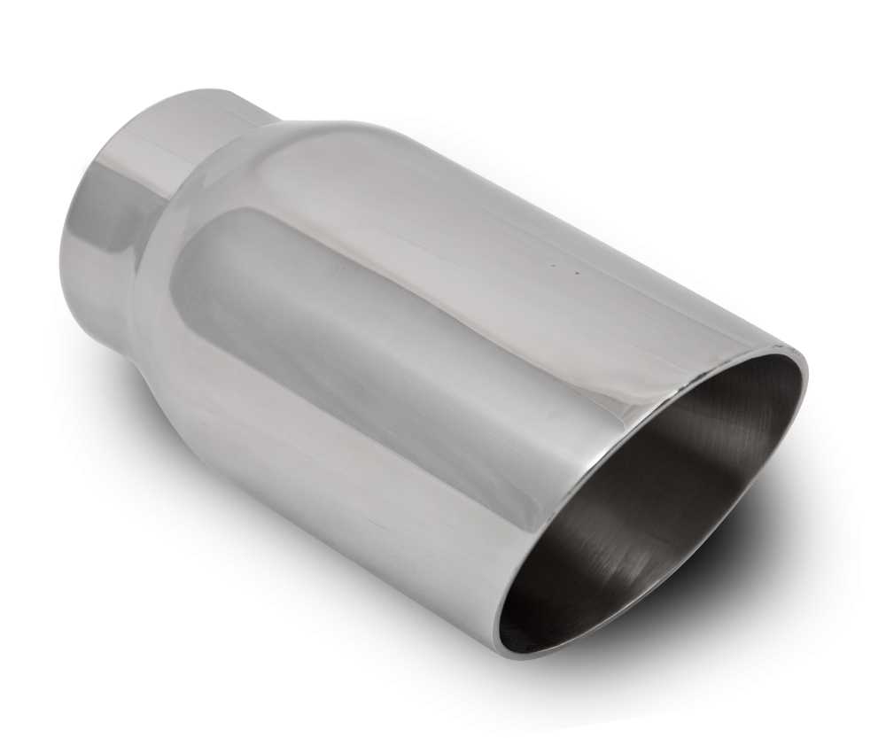 3 inch Rolled, Angled, Welded Tailpipe (S76140RAI-W)